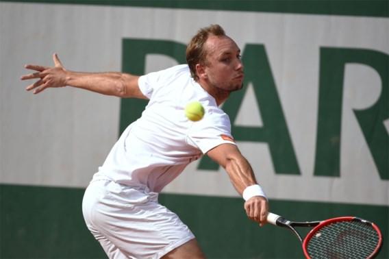 Ook Steve Darcis strandt in eerste ronde Roland Garros