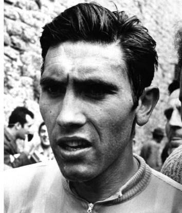 Tijdens de Giro van 1968.