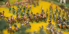 Een miniatuurversie van de slag