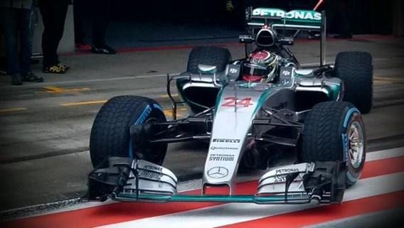 Wehrlein snelste na verregende eerste F1-testdag in Oostenrijk