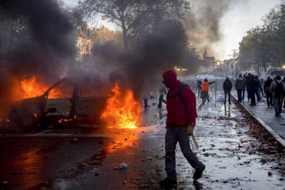 Vermeende relschopper nationale betoging vrijgesproken bij gebrek aan bewijs