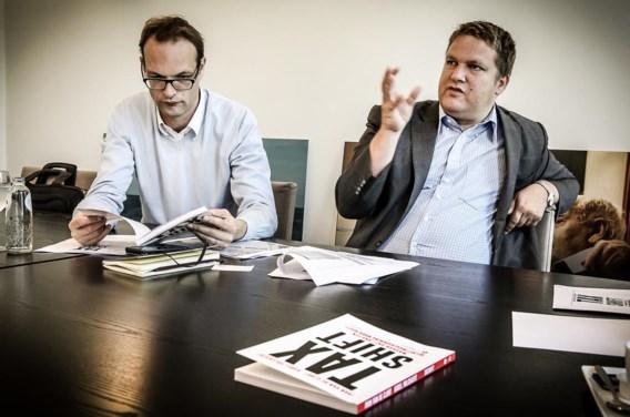 Karel Volckaert en Ivan Van de Cloot (l.) bepleiten een hervorming op basis van economische argumenten.