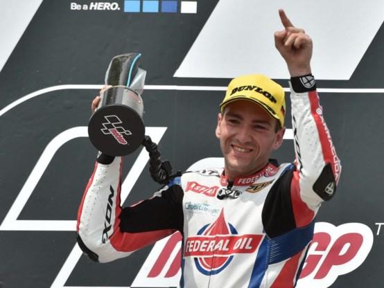 Belg Xavier Siméon pakt eerste zege in Moto2
