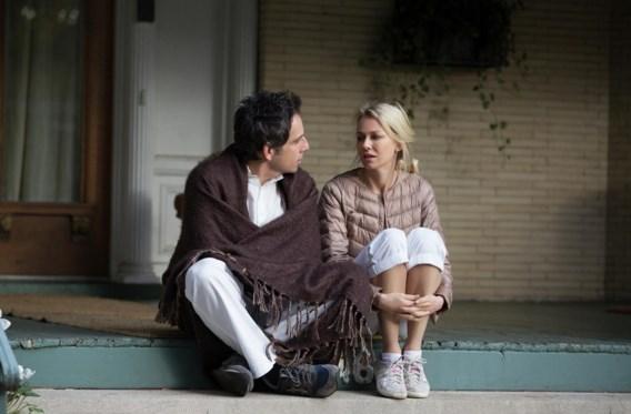 Ben Stiller en Naomi Watts in 'While we're young'. 'Oudere mensen hechten overdreven veel belang aan jongeren.'