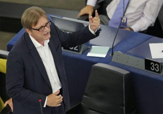 Verhofstadt: 'Voldragen Europese muntunie of terug naar nationale munten'