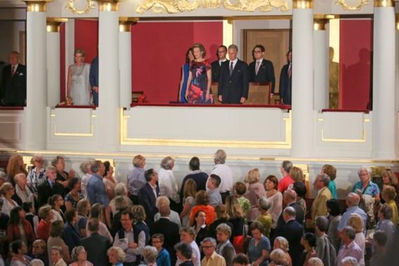 Filip en Mathilde wonen concert bij in volle Bozar op vooravond 21 juli