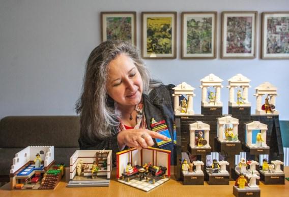 'Ik reconstrueer archeologische sites en voorwerpen in Lego.'