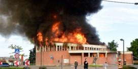 Uitslaande brand in kerk in Ardooie
