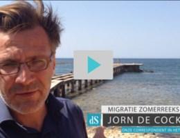 Jorn De Cock in Libië, op zoek naar migranten die Europa willen bereiken