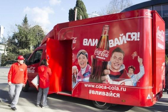 """<p>Coca-Cola sponsort vele sportevenementen.Zo was de frisdrankfabrikant ook aanwezig op de Winterspelen van Sotsji in 2014.<span class=""""credit"""">photo news</span></p>"""