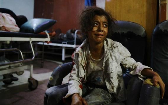 Zeker 31 burgers gedood bij luchtaanvallen bij Damascus