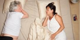'Schoon, zo vol overgave slapen'