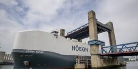Antwerpse haven verwelkomt grootste autoschip ter wereld