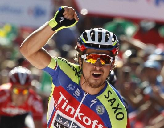 Peter Sagan breekt de ban in Vuelta