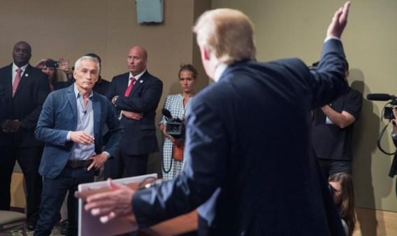 Nadat Trump de journalist uit de zaal had laten zetten, keerde die terug en kon hij alsnog in debat gaan met de Republikein.