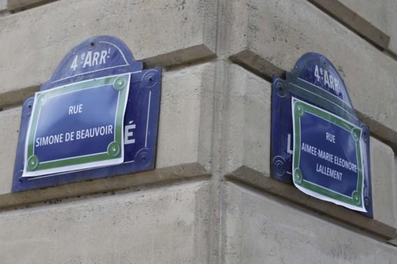 'Noem meer Parijse straten naar een vrouw'