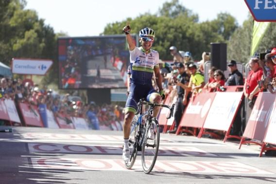 Chaves wint alweer in de Vuelta en pakt opnieuw rood