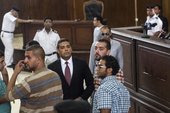 Celstraf voor drie reporters Al-Jazeera