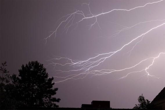 Onweer zorgt opnieuw voor wateroverlast in West-Vlaanderen
