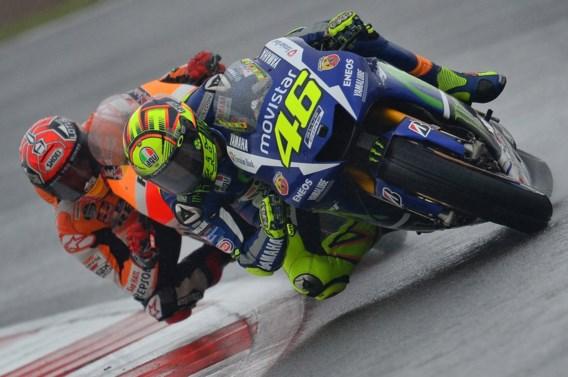Valentino Rossi pakt zege in MotoGP Groot-Brittannië