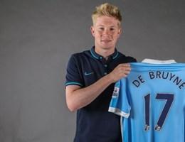 Kevin De Bruyne officieel van Manchester City
