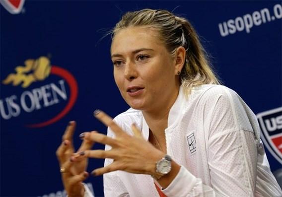 Maria Sharapova zegt af voor US Open
