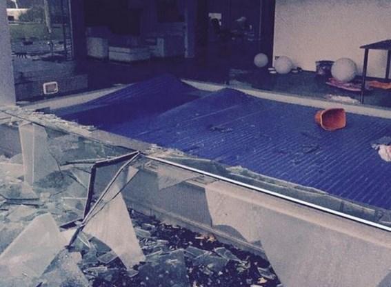 Huis Jan Verheyen vernield door onweer: 'We zijn dakloos!'