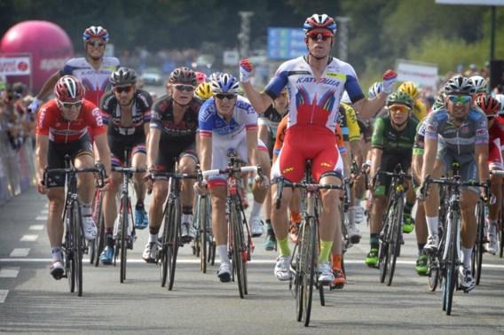 Kristoff sprint naar de zege in GP Plouay