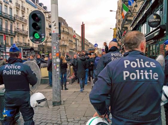 Brusselse agenten houden maandag protestactie