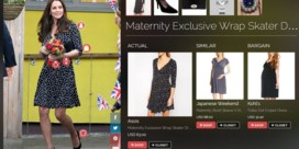 Jaloers op jurkje Kate Middleton? Koop het meteen