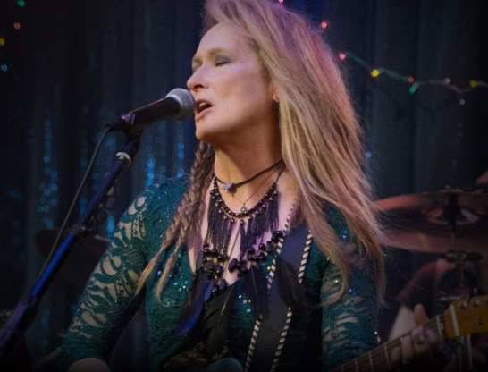 Streep speelt een mislukte rockster.