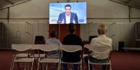 Tsipras geeft tijdens kopstukkendebat toe dat Grieks hulpprogramma grote last is
