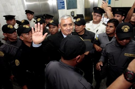 Ex-president van Guatemala: 'Slachtoffer van Amerikaans complot'