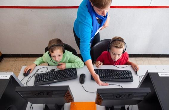 Hoe meer kinderen oefenen, hoe meer kans dat ze daarna een spelletje mogen spelen.