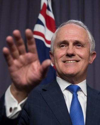 De nieuwe premier: Malcolm Turnbull.