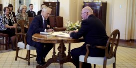 Nieuwe premier van Australië legt de eed af