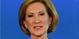 Carly Fiorina, van zich afbijtende presidentskandidate