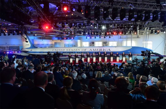 Donald Trump onder vuur in Republikeins debat