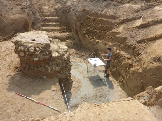 Archeologen leggen villaterrein en boerderijen bloot in Deurne