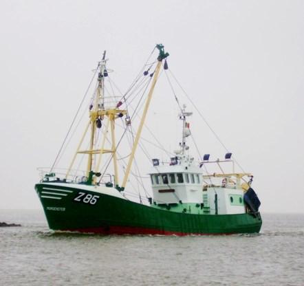 Vissersschip Morgenster zonk door slecht weer