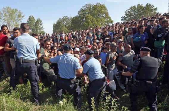 Hongarije houdt trein tegen, ontwapent politieagenten en arresteert conducteur - Kroatië ontkent dat