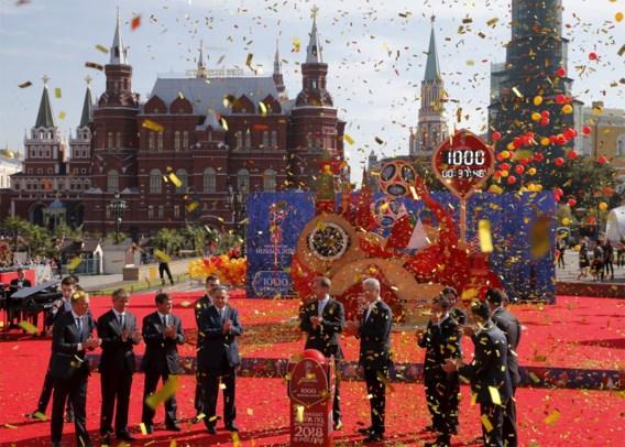 Rusland telt (nu al) af naar WK 2018