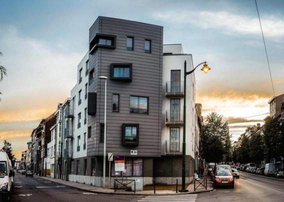 Dit appartementsblok werd in 2013 gebouwd en is nu in handen van de Community Land Trust.
