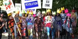 IN BEELD. Vivienne Westwood kan protest niet laten