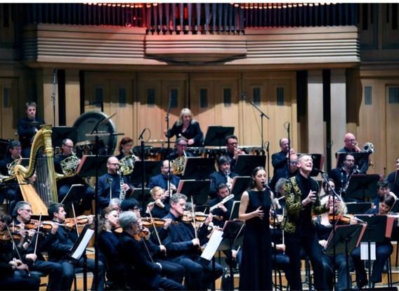 Het Nationaal Orkest, hier in Bozar met Ozark Henry, fuseert met dat van De Munt.