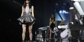 IN BEELD. Robots stelen de show bij Philipp Plein