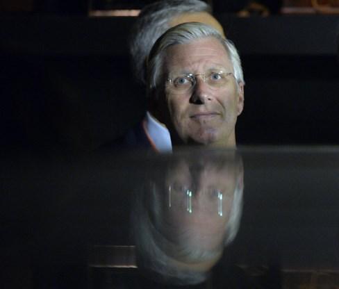 Koning Filip opent Train World in Schaarbeek officieel