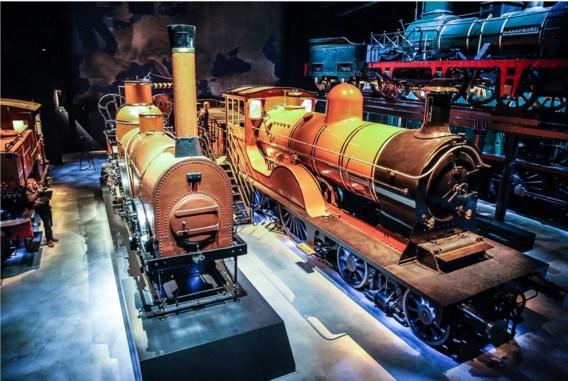 De stoomlocomotieven zijn de pronkstukken van Trainworld.
