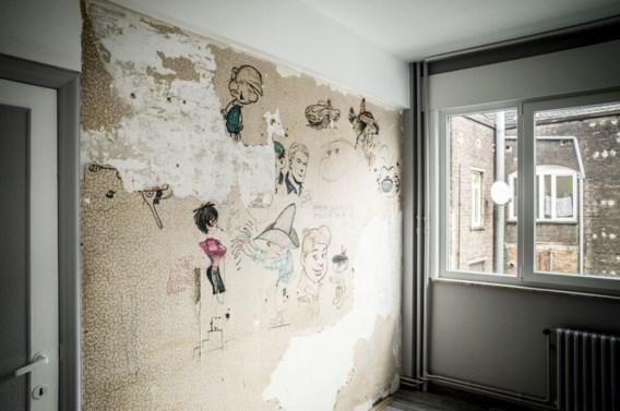 In het centrum van Brussel zijn in een gebouw – onder vijf lagen behangpapier – originele tekeningen ontdekt van enkele legendarische striptekenaars. Franquin, bekend van Robbedoes en Guust Flater, tekende er de kop van Marsupilami. Daarbij staat ook een jaartal vermeld: 1958. De tekeningen bleven dus meer dan vijftig jaar verborgen. Eigenlijk zijn ze al eind 2013 ontdekt, tijdens renovatiewerken in een gebouw van de liberale vakbond VSOA in de Centrumgalerij in Brussel. Maar het nieuws werd nu pas bekendgemaakt. Ook Peyo (De Smurfen), Roba (Bollie en Billie) en Victor Hubinon (Buck Danny) tekenden op de muur.