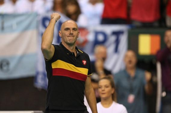 Johan Van Herck voelt enorme drive bij Davis Cup-team